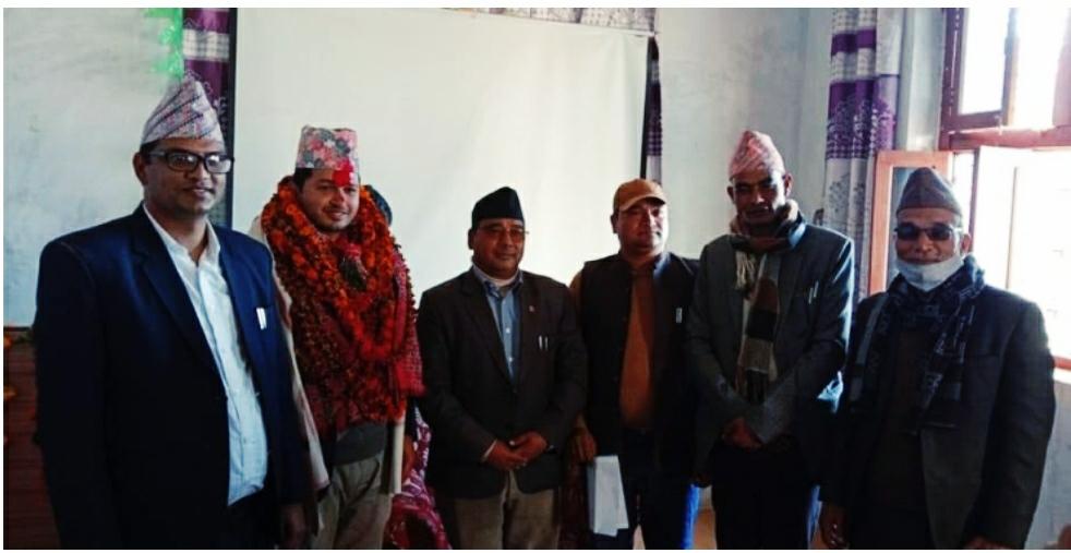बान्निगढी जयगढ गाउँपालिका प्रमुख प्रसासकिय अधिकृत ढुंगानाको बिदाई