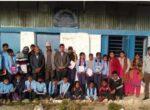 नेविसंघका नेता खनालद्वारा जन्मदिनको अवसरमा शैक्षिक सामाग्री वितरण