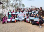 रुपान्तरण कक्षाका साथी शिक्षक हरुलाइ जिबन उपयोगी सीप बारे दस दिने तालीमको समापन