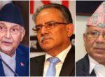 राजनीतिक दलको सरकार बनाउने दौडधूप