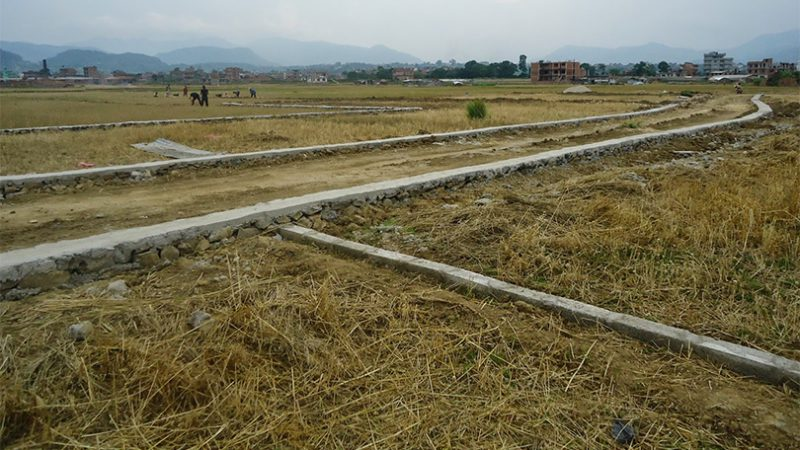 काठमाडौंको जग्गाको मूल्याङ्कन बढेन, ललितपुरमा प्रति आना १२ सय