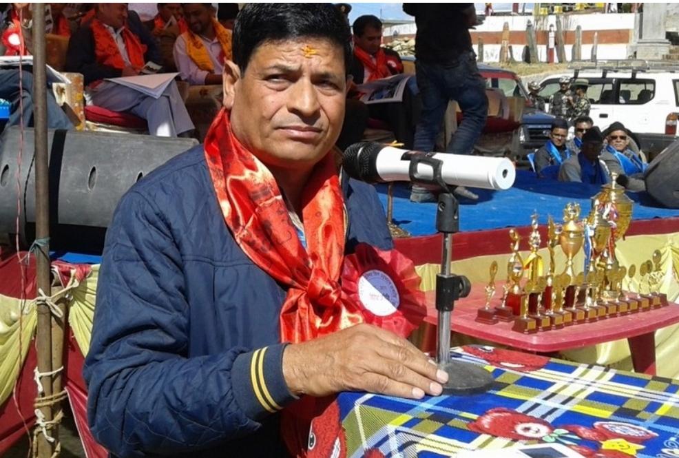 क्रिकेट संघका अध्यक्ष चन्द जनसेवाश्री पदकबाट विभूषित